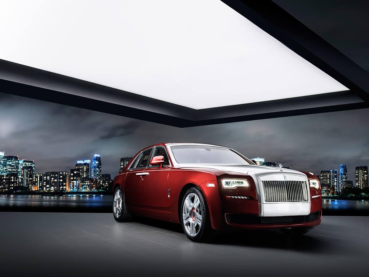Rolls-Royce Ghost Red Diamond Edition 1