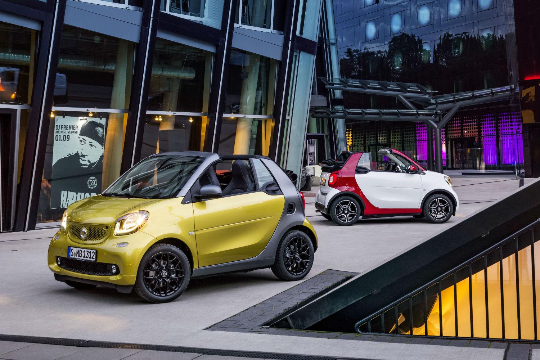 Smart ForTwo Cabrio 1