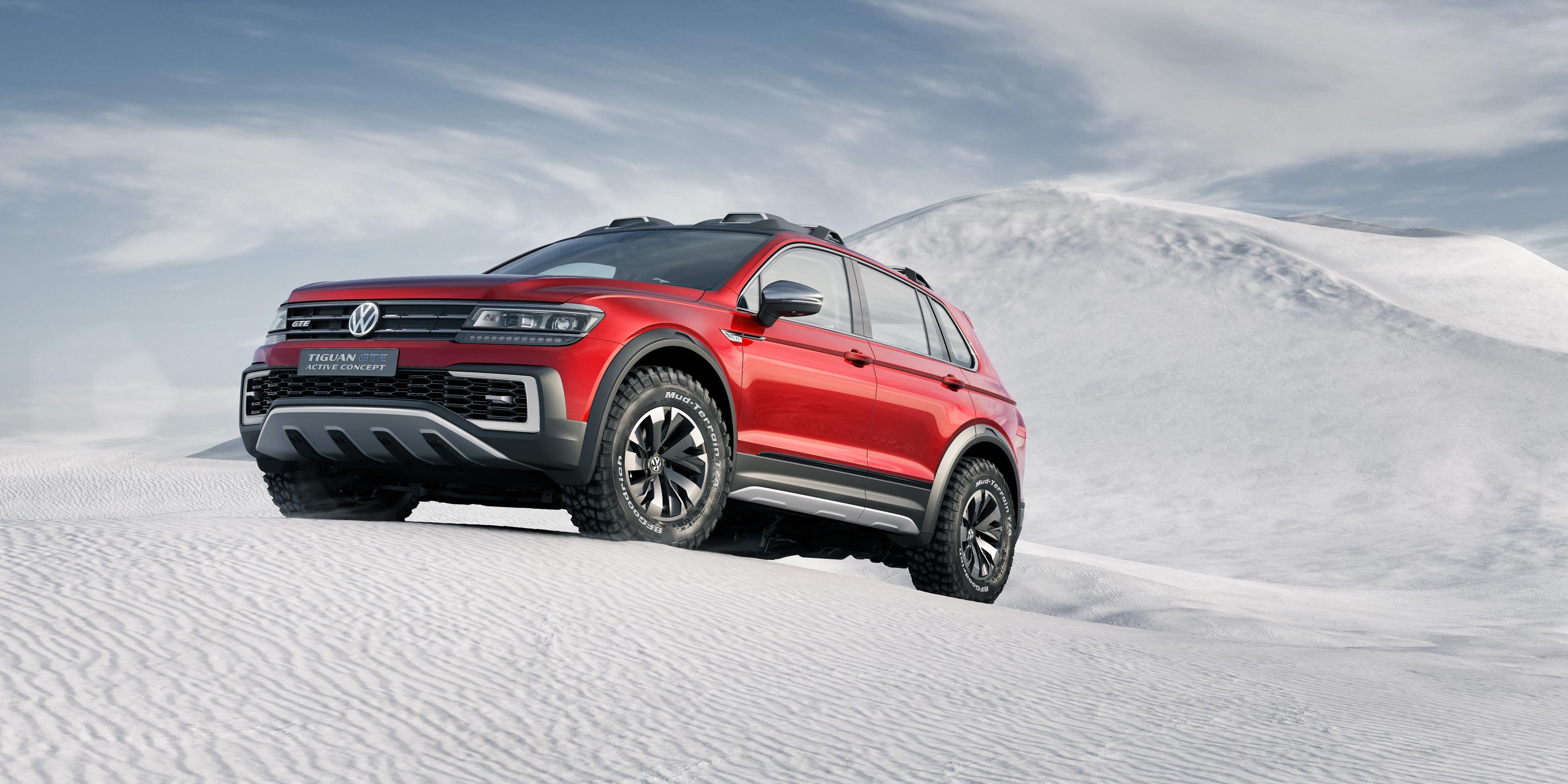 Volkswagen Tiguan GTE Active Concept, el híbrido más aventurero