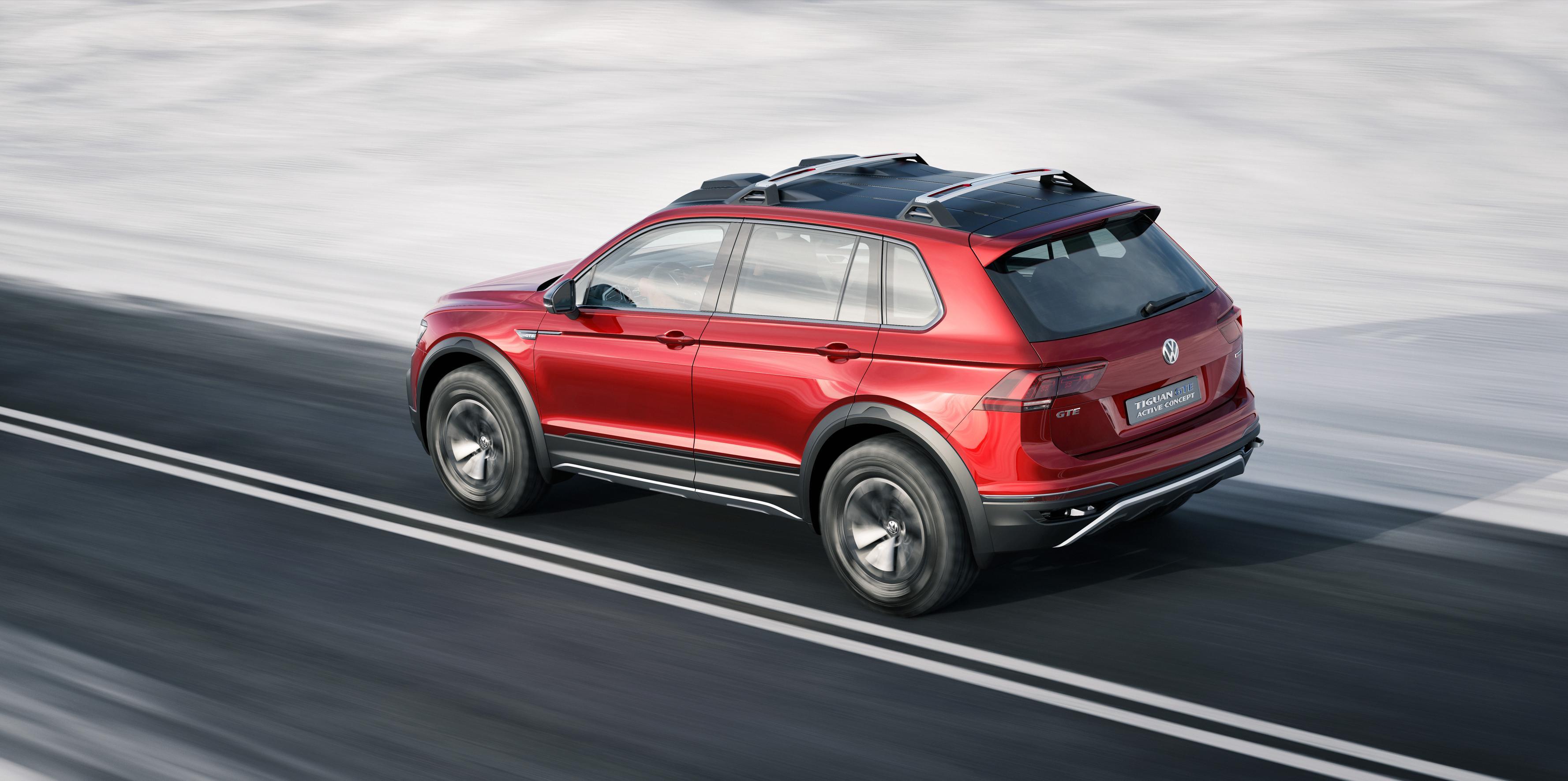Volkswagen Tiguan GTE Active Concept 2