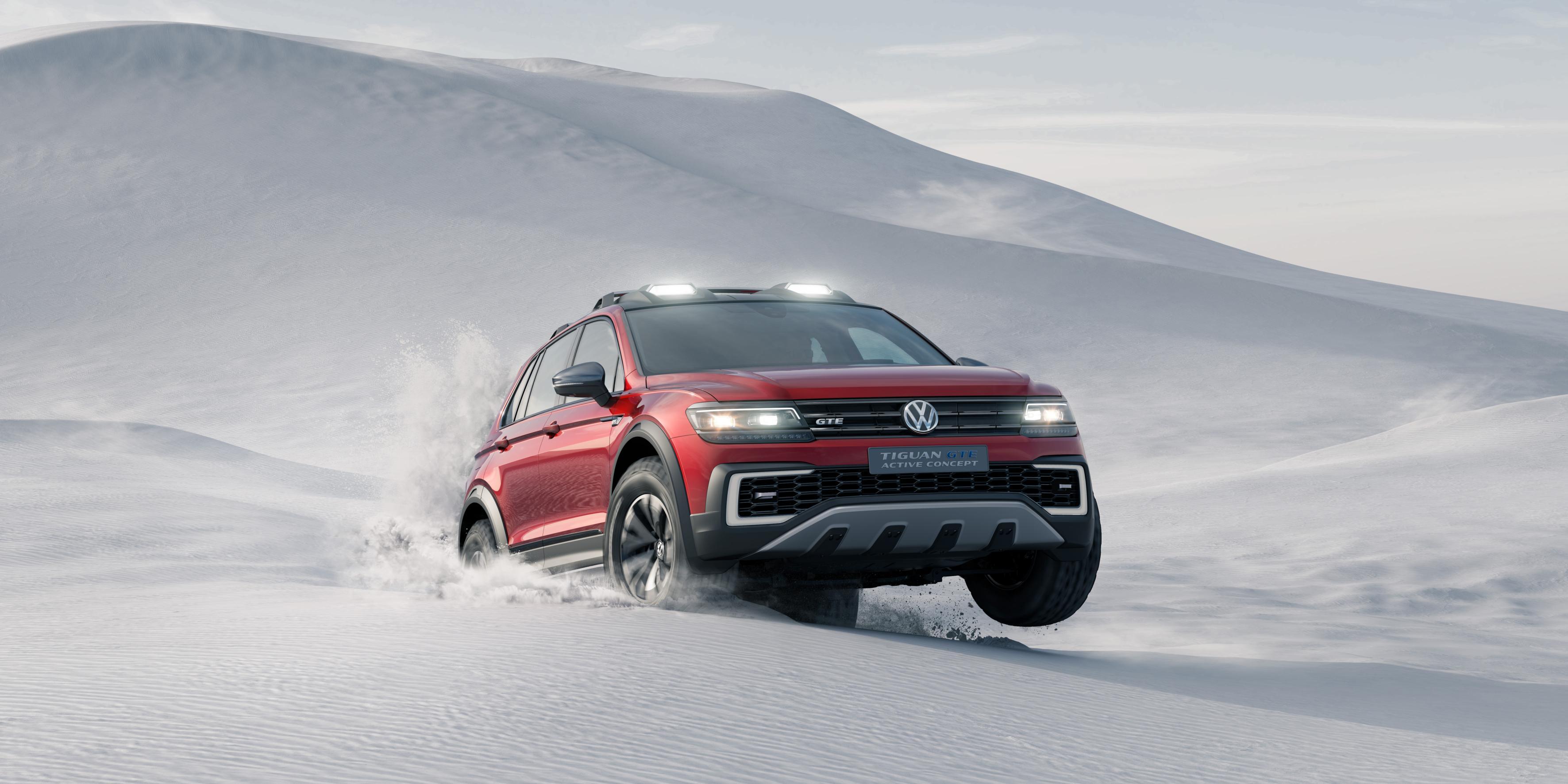 Volkswagen Tiguan GTE Active Concept 4