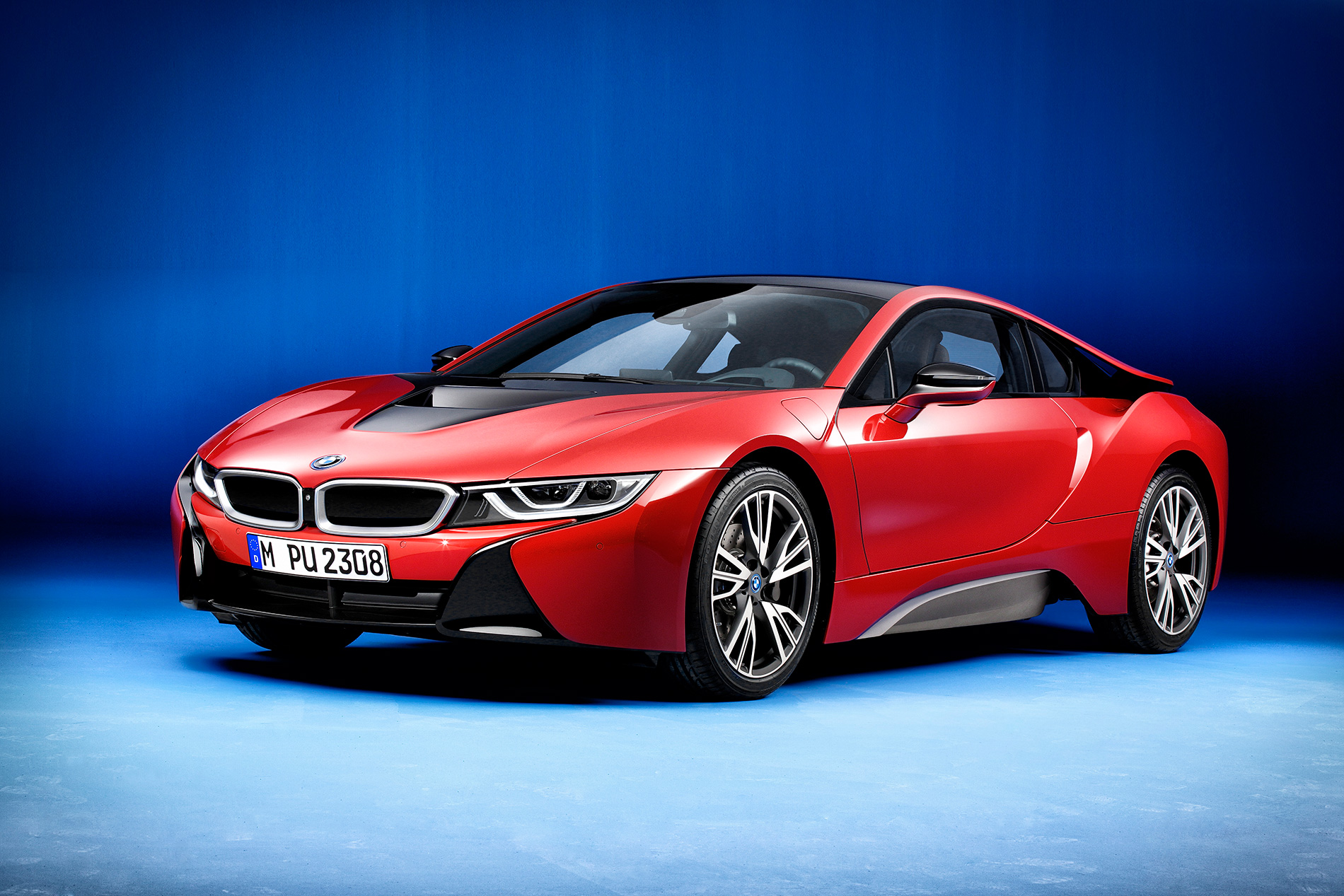 BMW i8 Protonic Red Edition 1