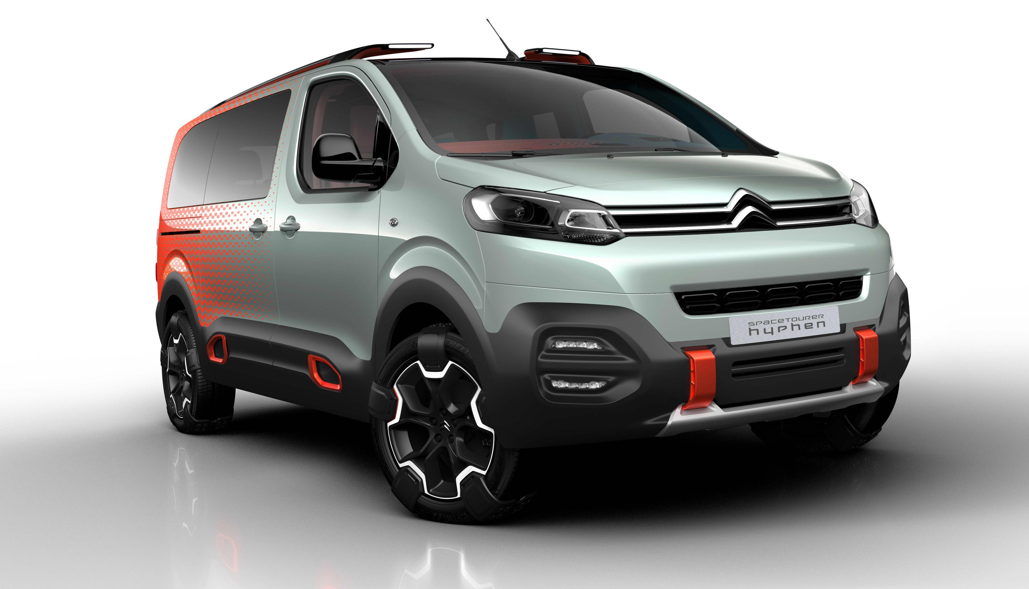 Citroën concept SpaceTourer Hyphen, el monovolumen 'cantante'