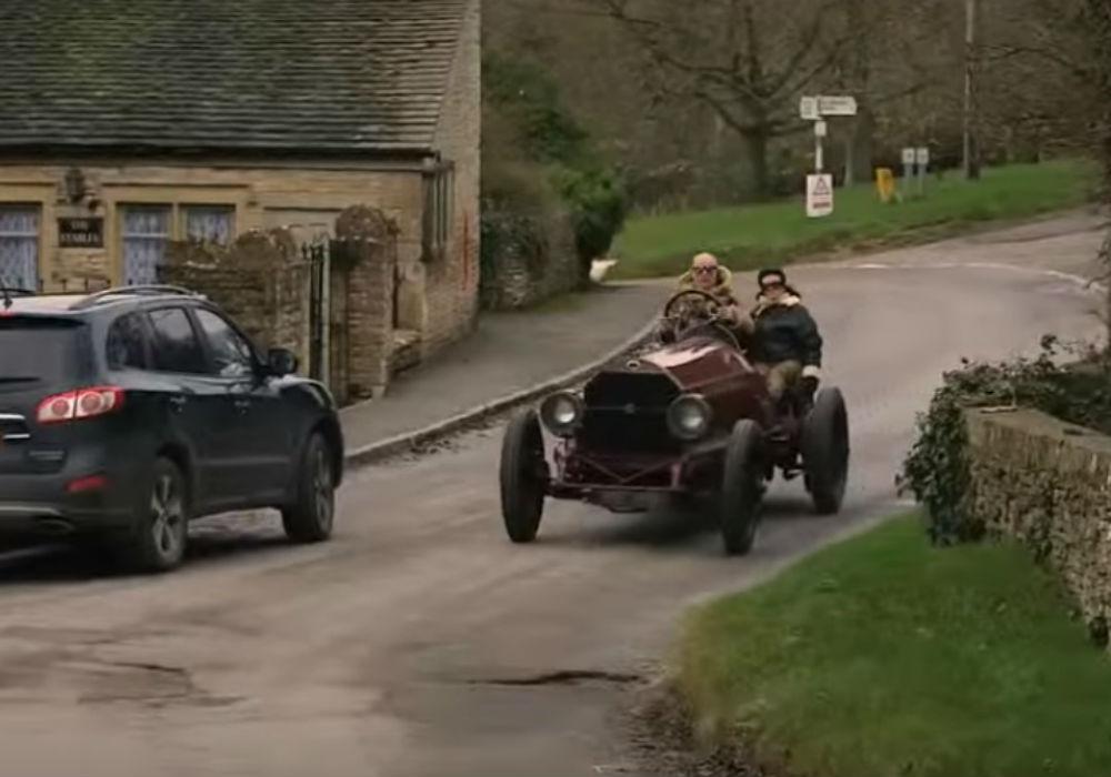 El coche de 1905 que arrancaría las pegatinas a cualquiera