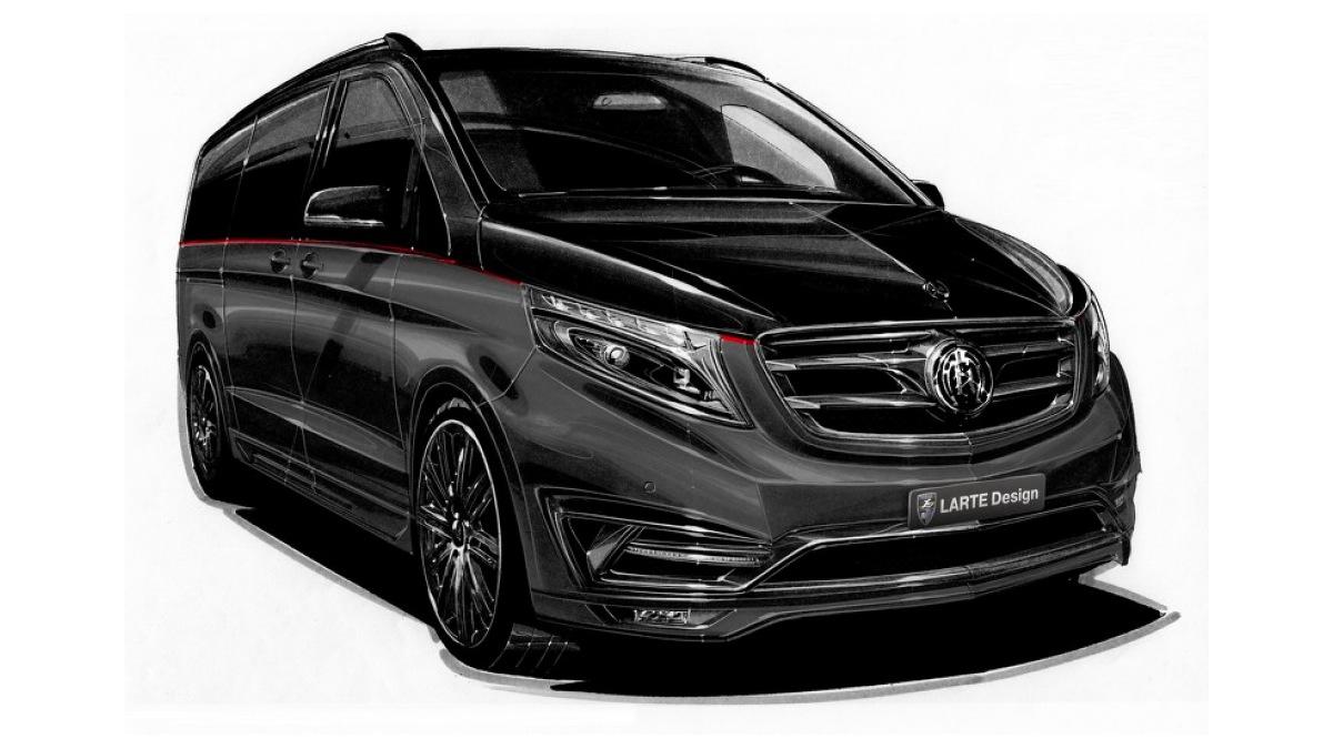 Mercedes Clase V Black Crystal 1