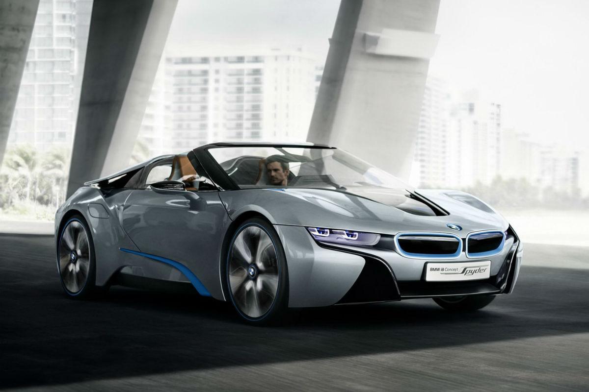 BMW i8 Spyder 1
