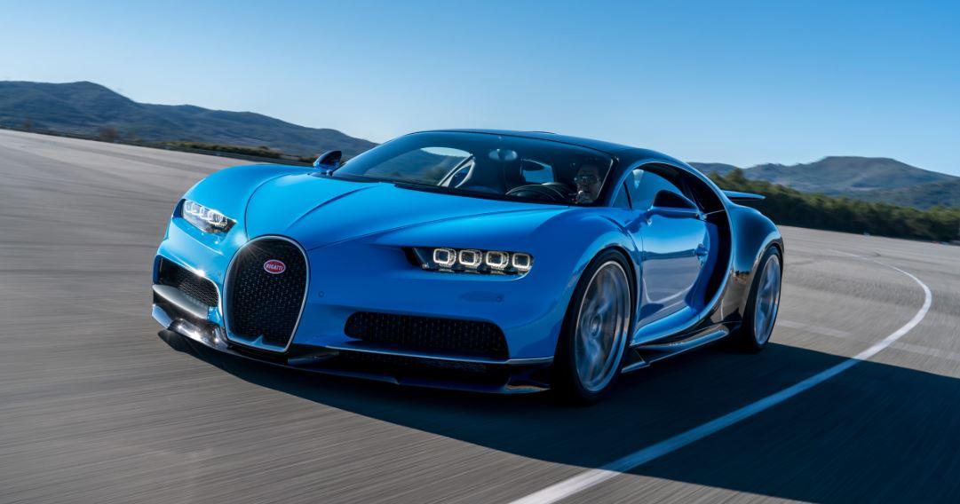 Silencio: el Bugatti Chiron, en movimiento