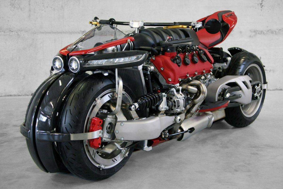 Lazareth LM 847, la 'moto' que se creía un Maserati