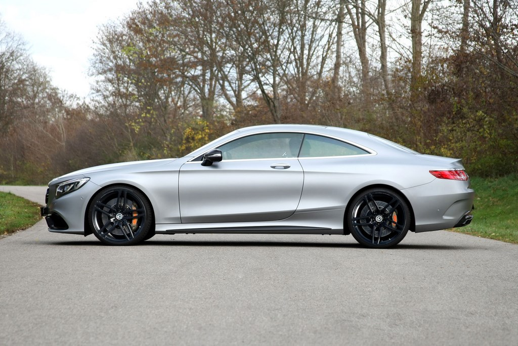 Mercedes AMG S 63 Coupe G Power 3