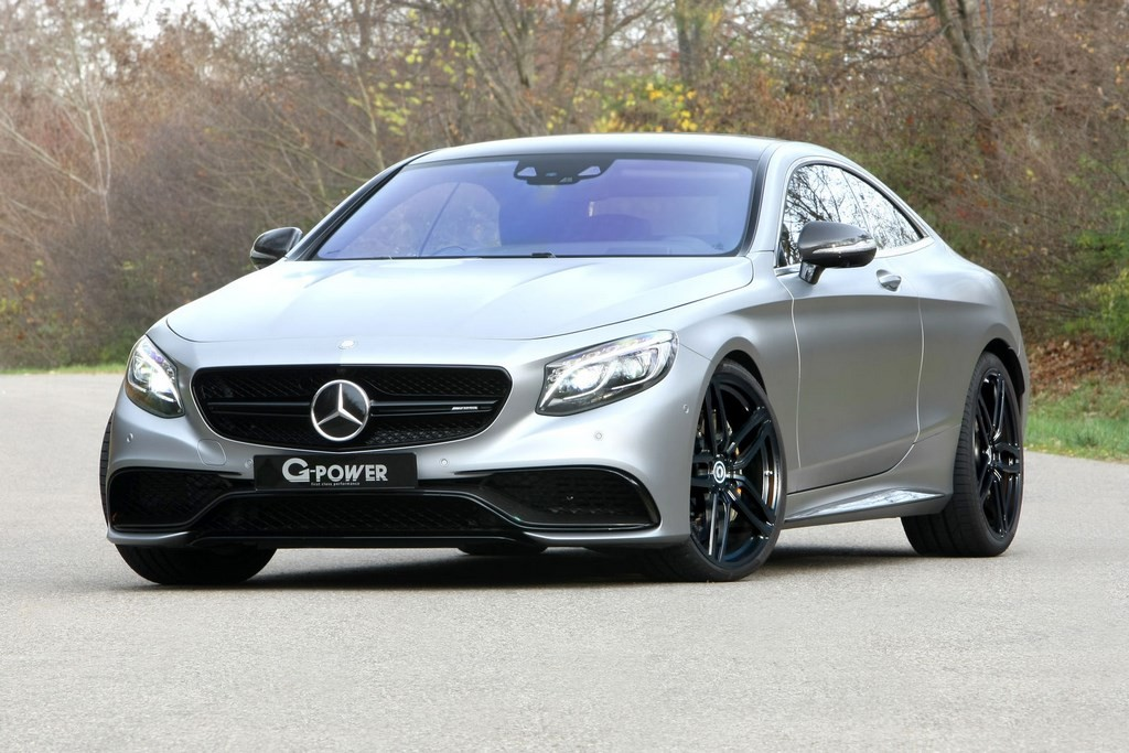 Mercedes AMG S 63 Coupe G Power