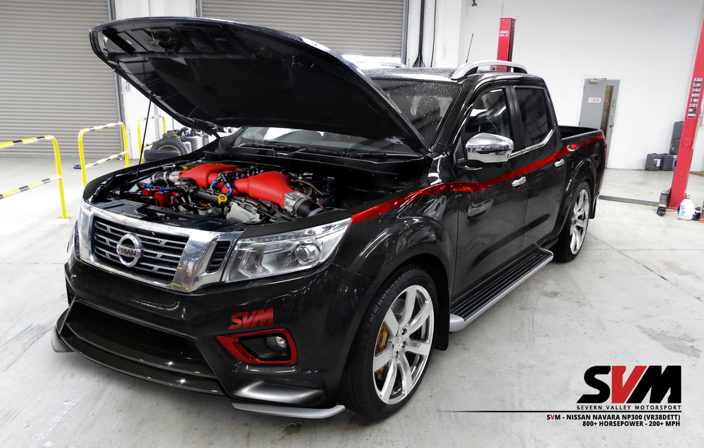 Nissan Navara SVM Motorsports