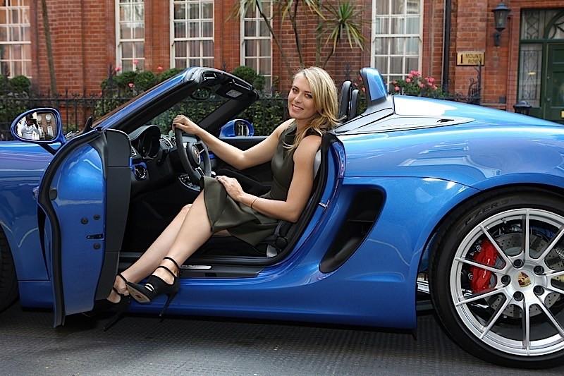 Porsche Sharapova 2