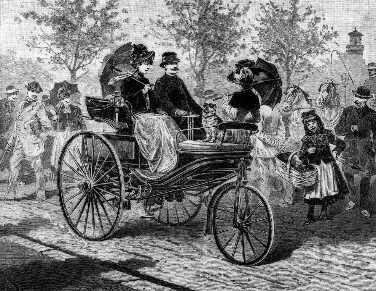 Primer viaje en coche de la historia