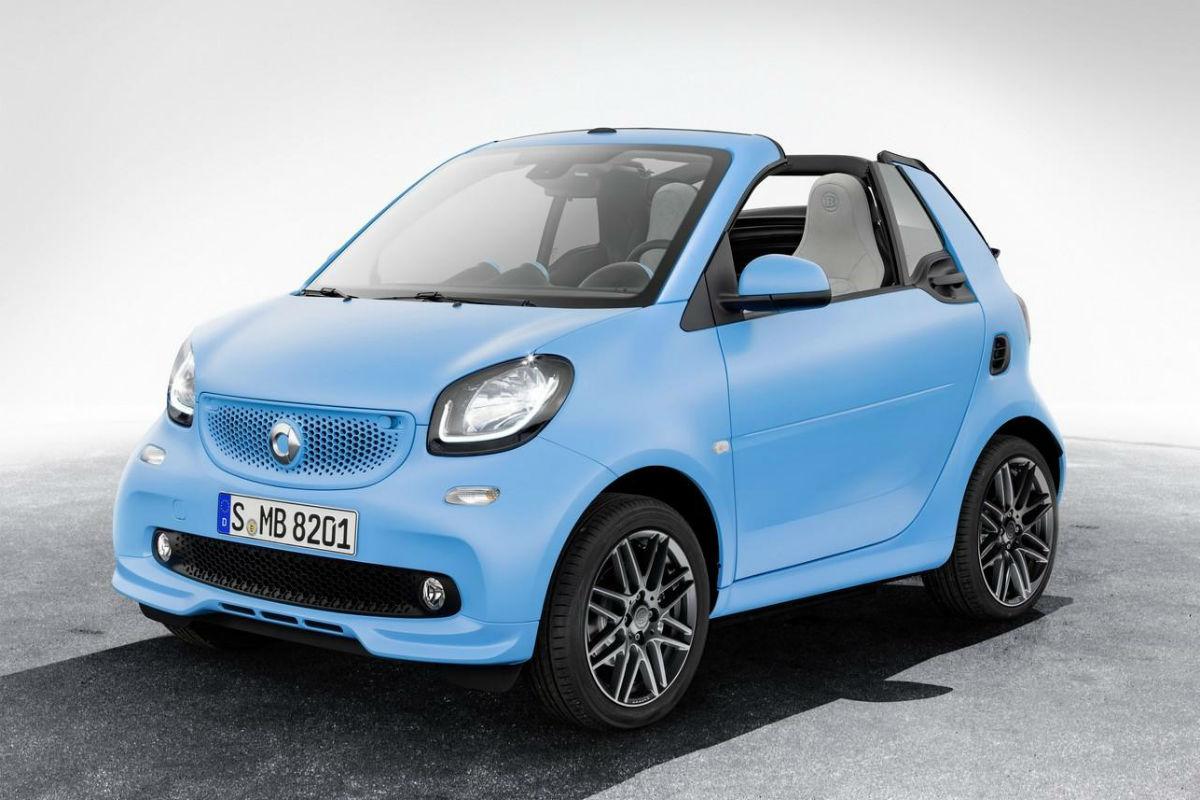 Smart ForTwo Cabrio Brabus Edition, el pequeño 'macarra'