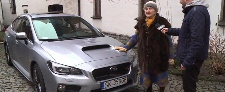 ¿Dejarías que tu abuela se comprase un Subaru WRX STI?