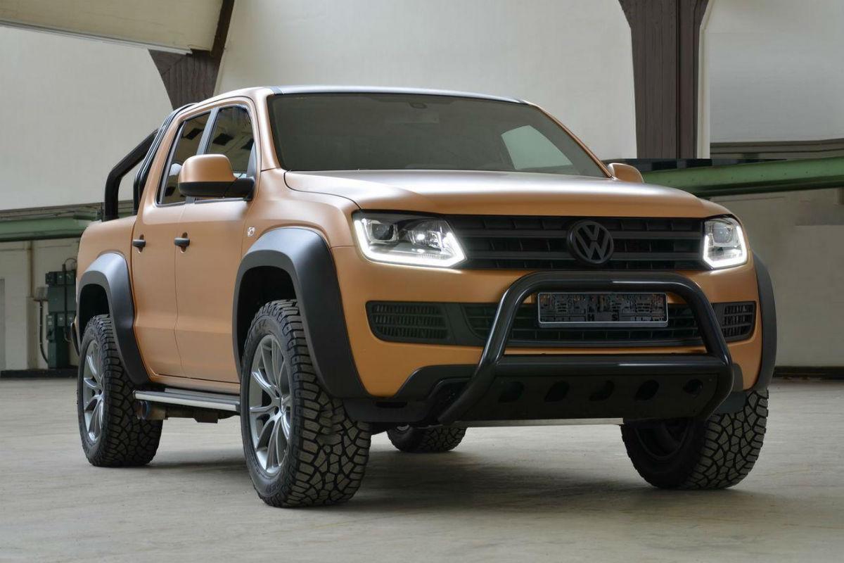Volkswagen Amarok, porque las 'pick-up' también tienen derecho