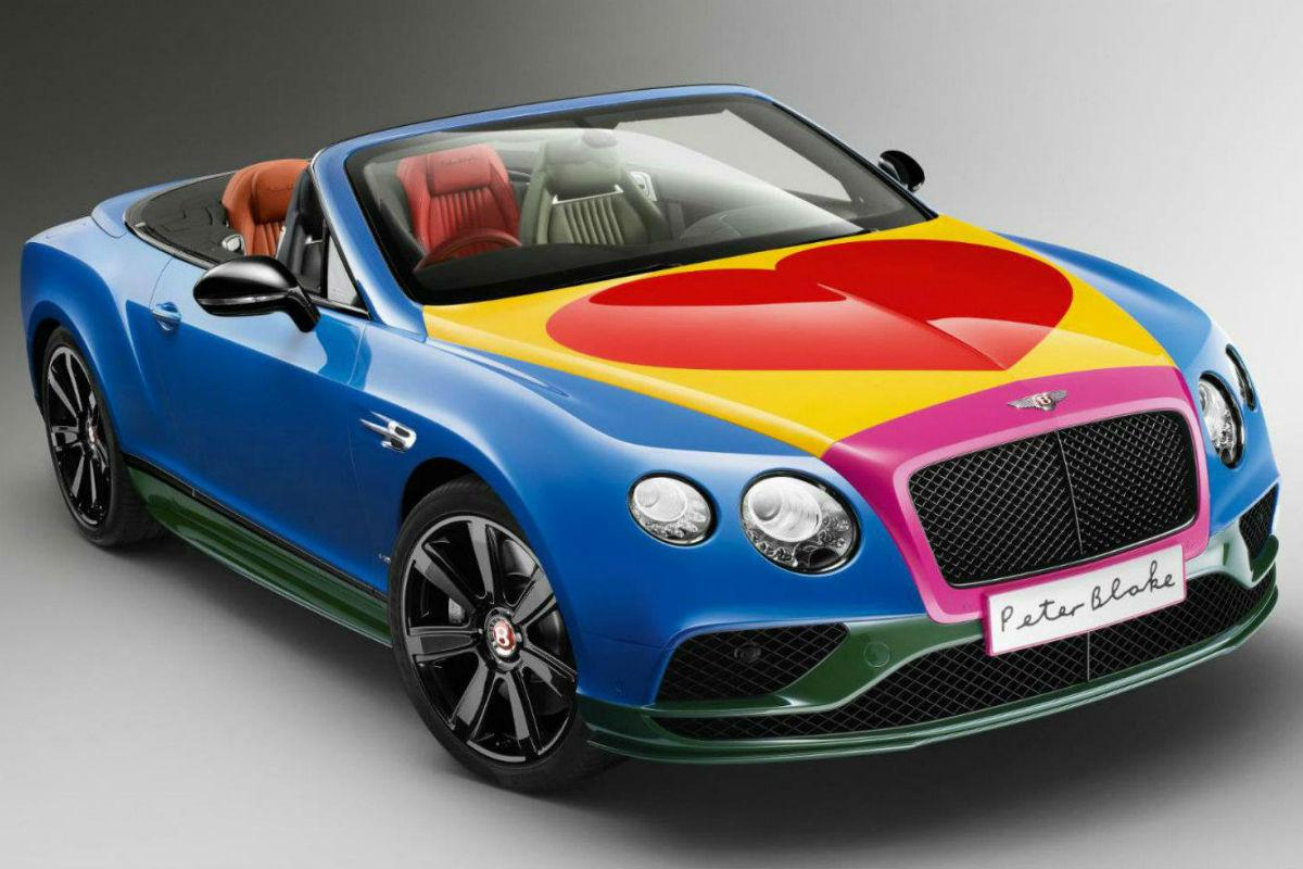 Bentley Continental GT S V8 Convertible Peter Blake 1