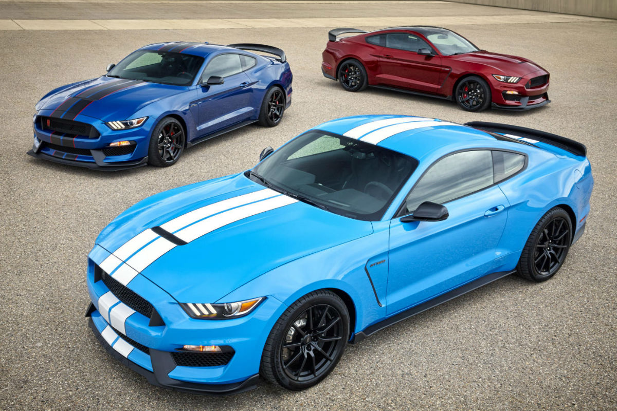 Ford Shelby Mustang GT350 3