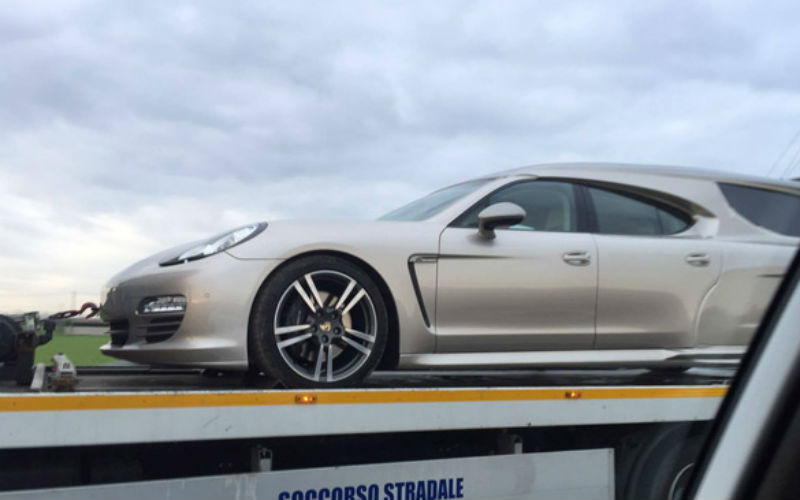 Porsche Panamera: descubre la versión ¡fúnebre!