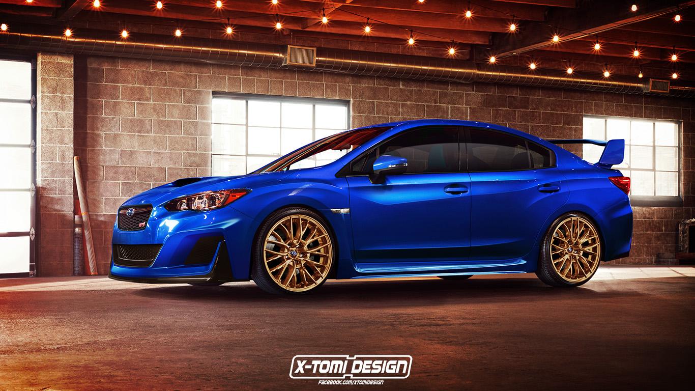 Así sería el nuevo Subaru WRX STI