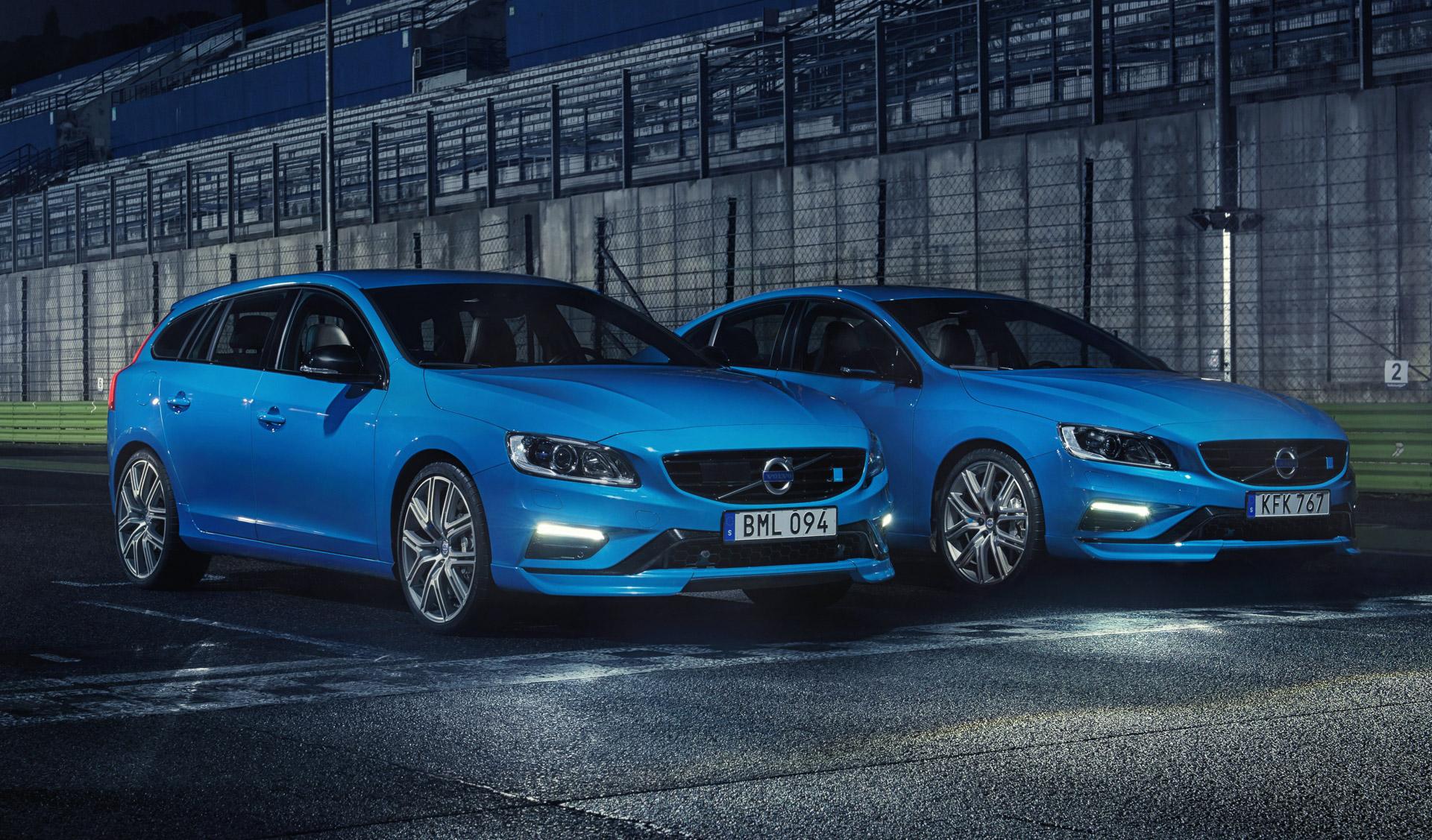 Volvo S60 y V60 Polestar, los más rápidos de la historia de la marca
