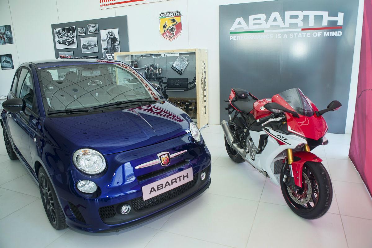 Abarth 595 Yamaha Factory Racing 99 Limited Edition 1