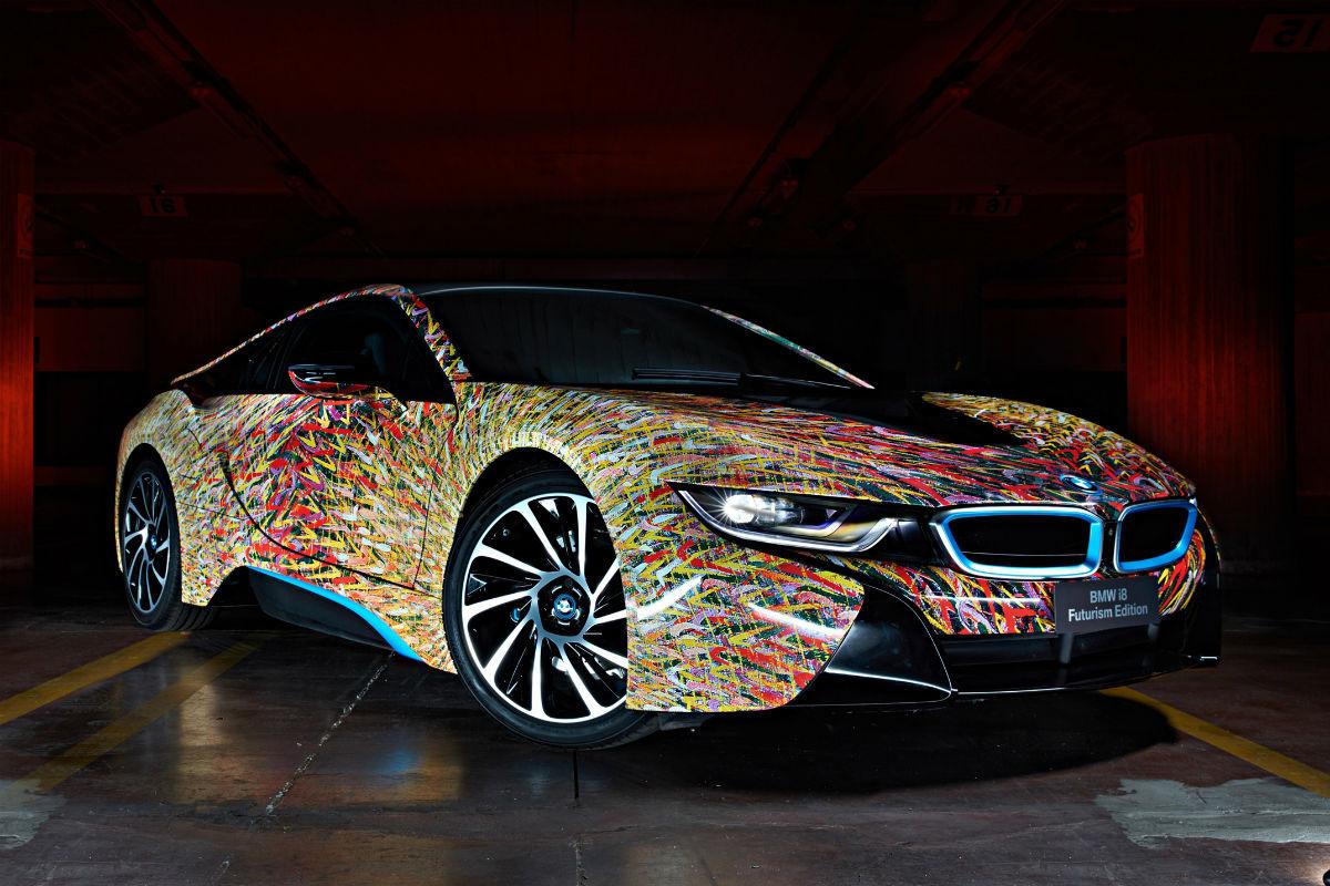 BMW i8 Futurism Edition 1