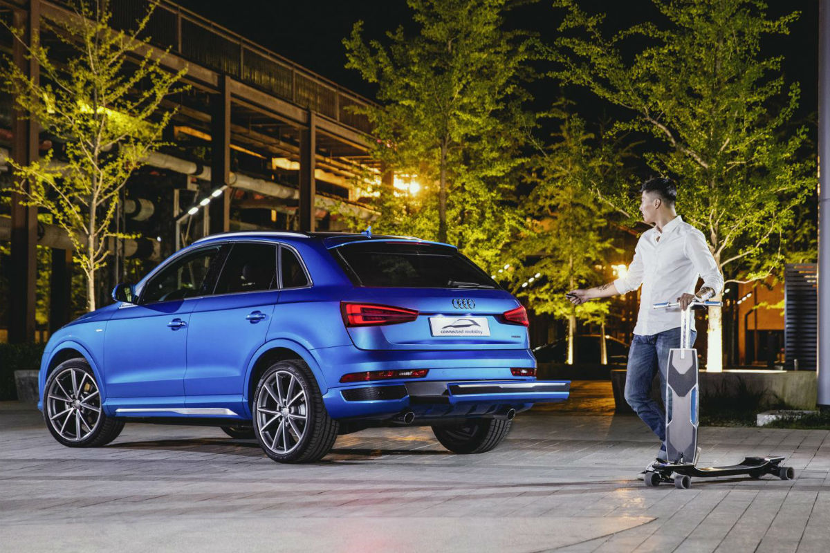Audi connected mobility 1