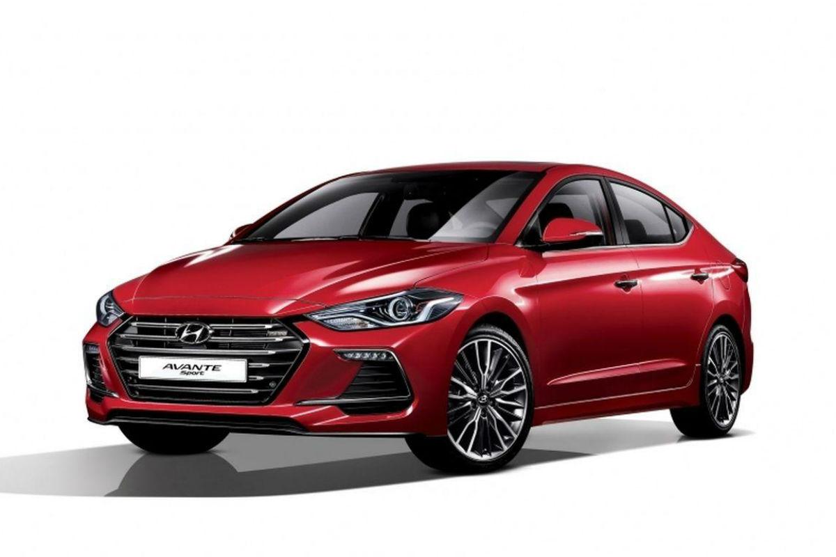 Hyundai Elantra Sport 1