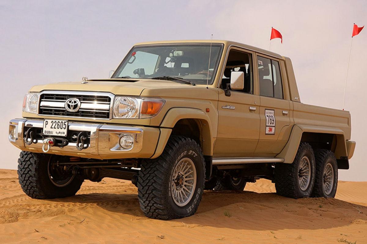 Toyota Land Cruiser 6×6, la bestia definitiva