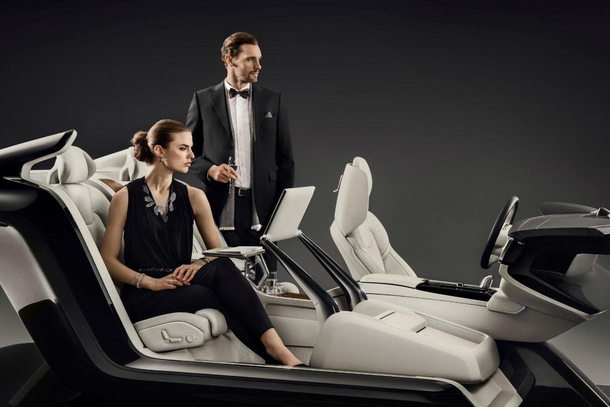 Volvo S90 Excellence Interior Concept, el habitáculo hecho arte