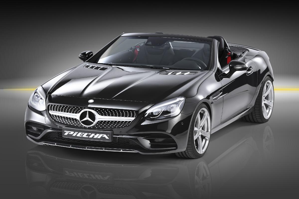 Mercedes SLC Piecha Design, un nuevo aire