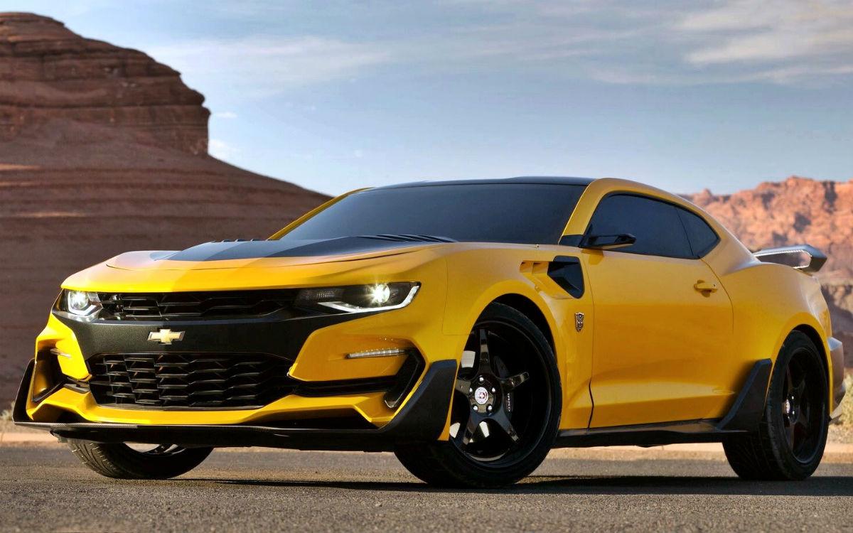 Chevrolet Camaro Transformers The Last Knight