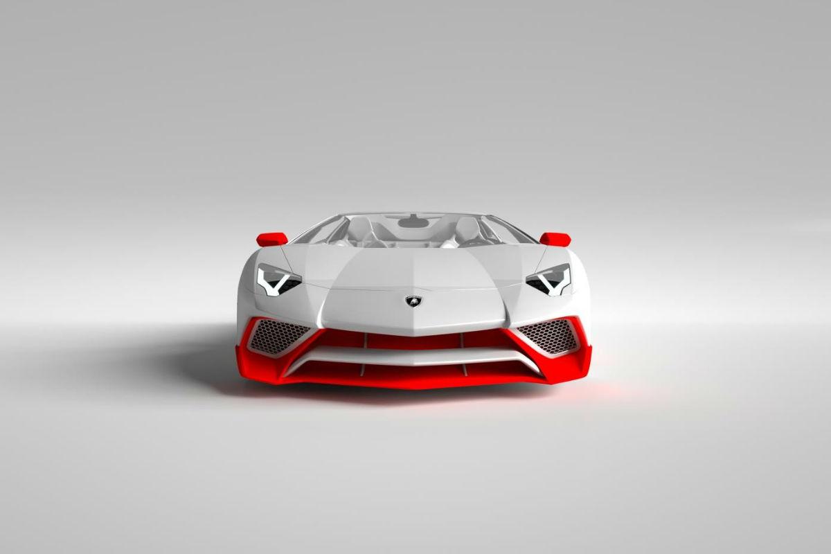 Lamborghini Aventador LP 750-4 SV by Vitesse AuDessus 1