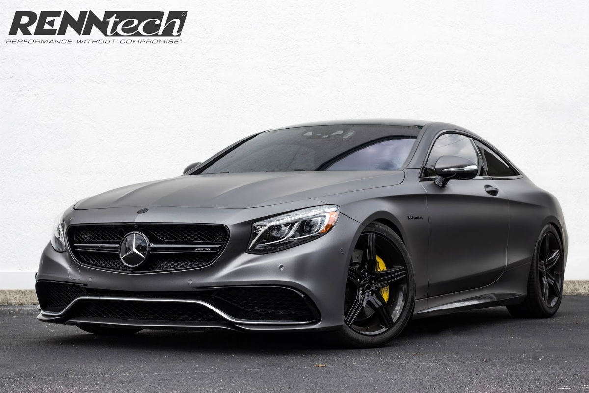 Mercedes S 63 AMG Coupe by Renntech 1
