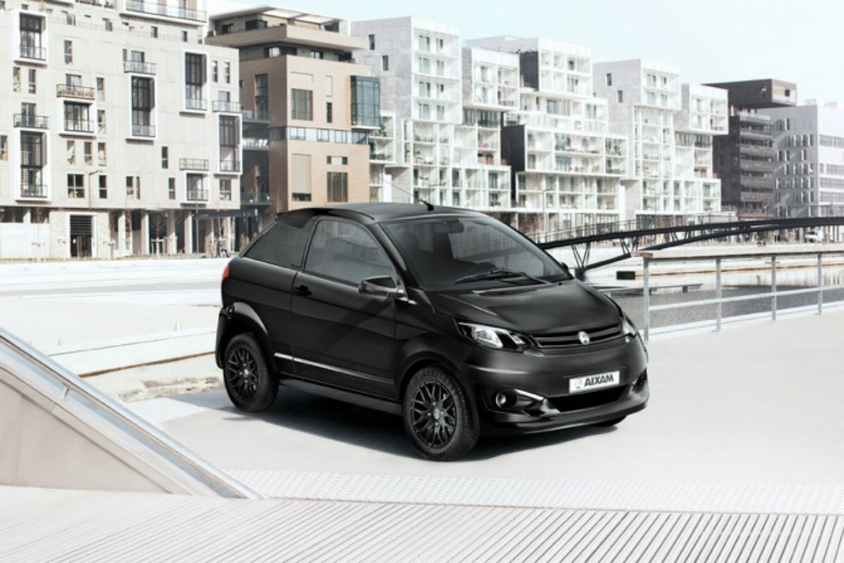 Aixam Coupe Black Edition 34AV Noir Ambiance