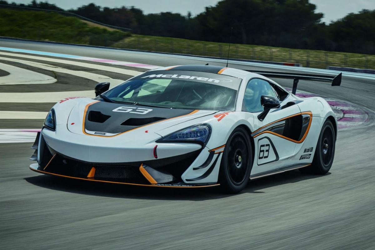 McLaren 570S Sprint 1