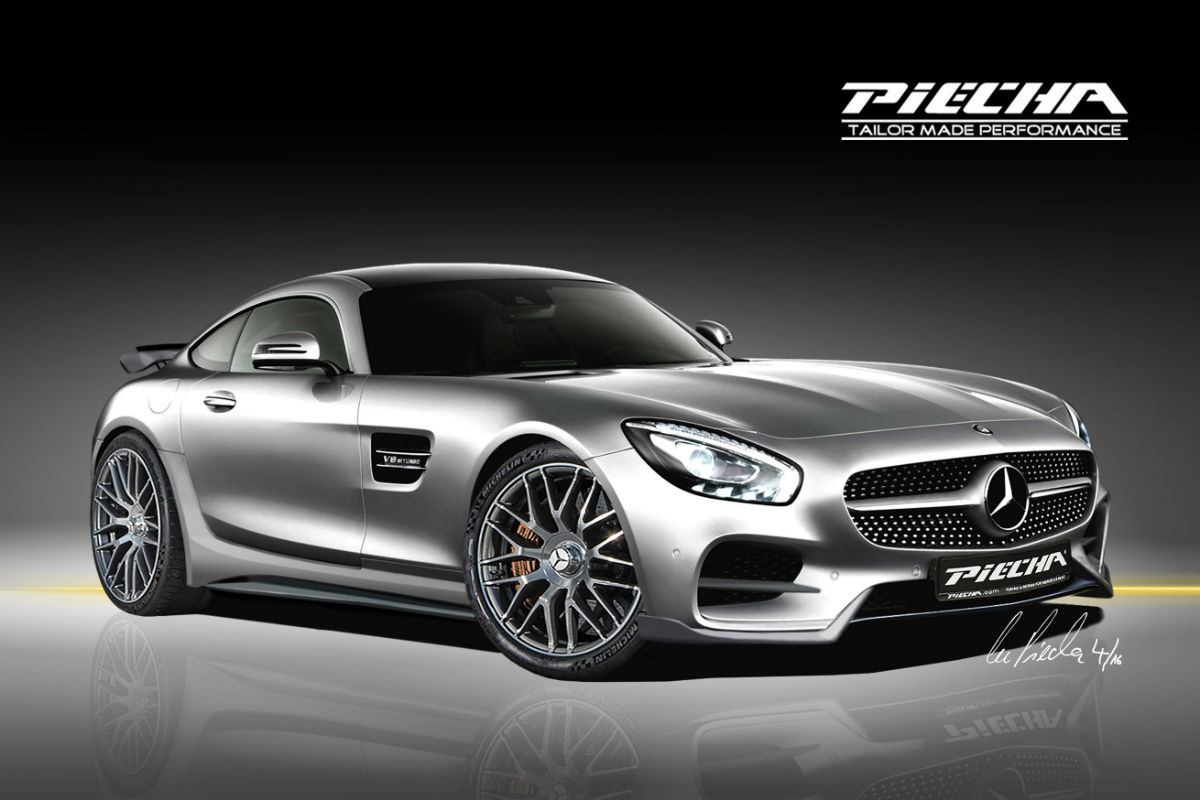 Mercedes-AMG GT S Piecha 1