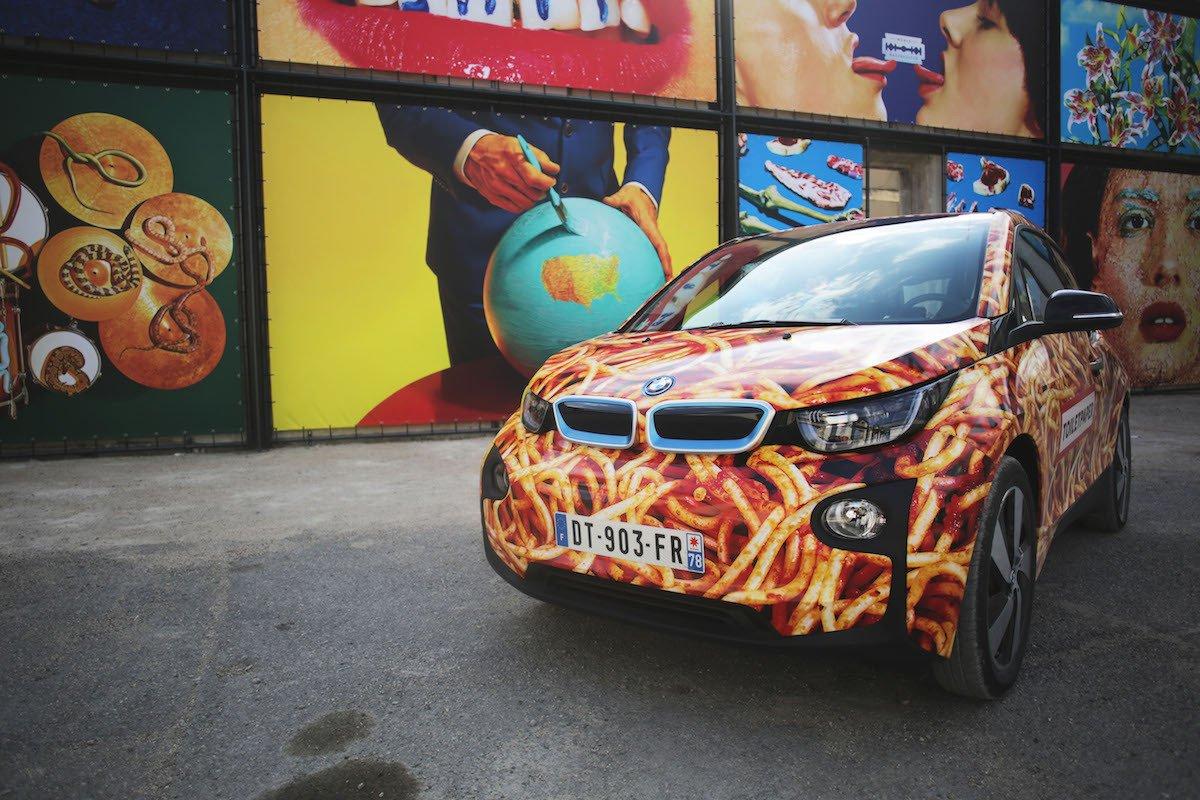 BMW i3 Spaghetti Car 2