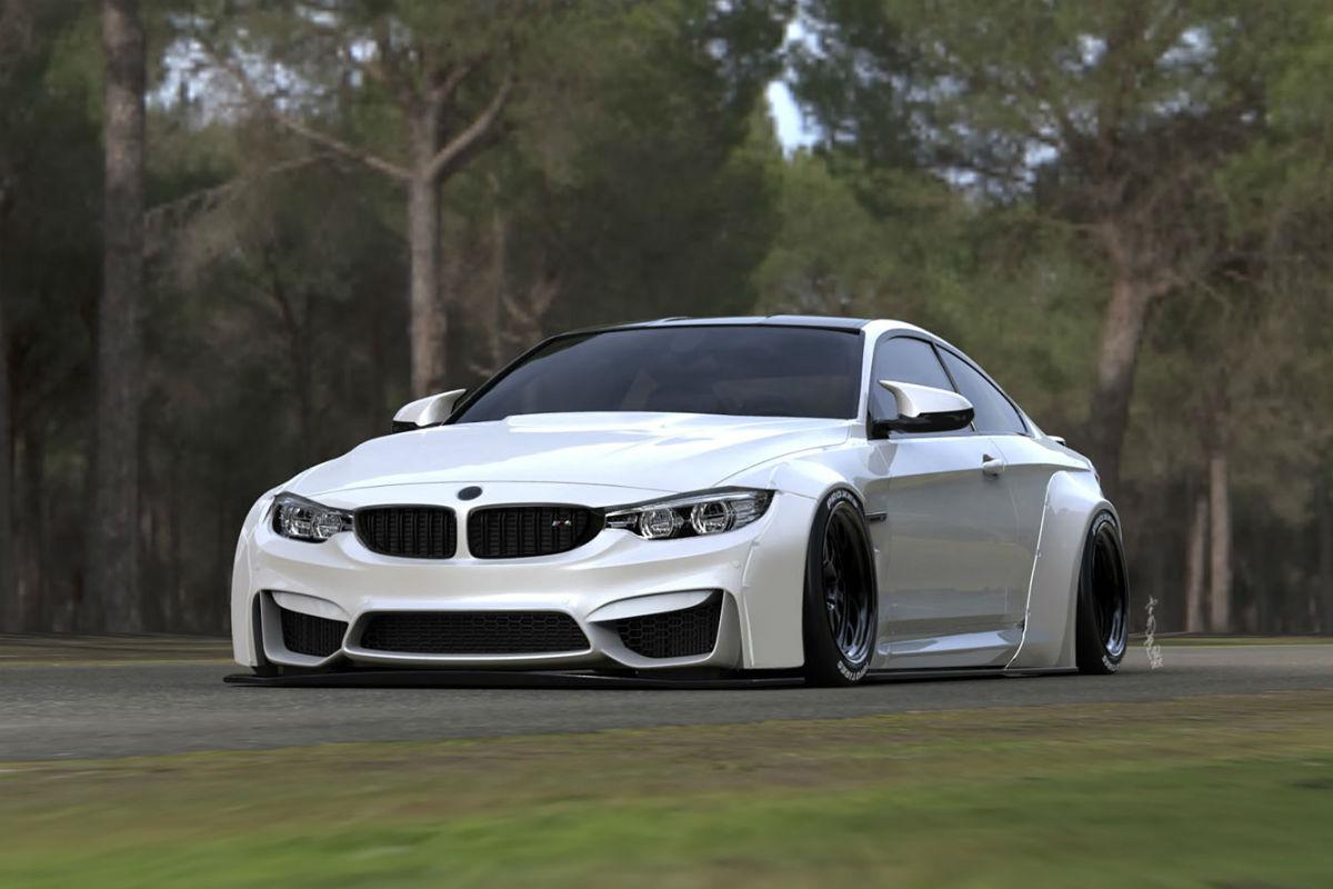 BMW M4 Liberty Walk 1