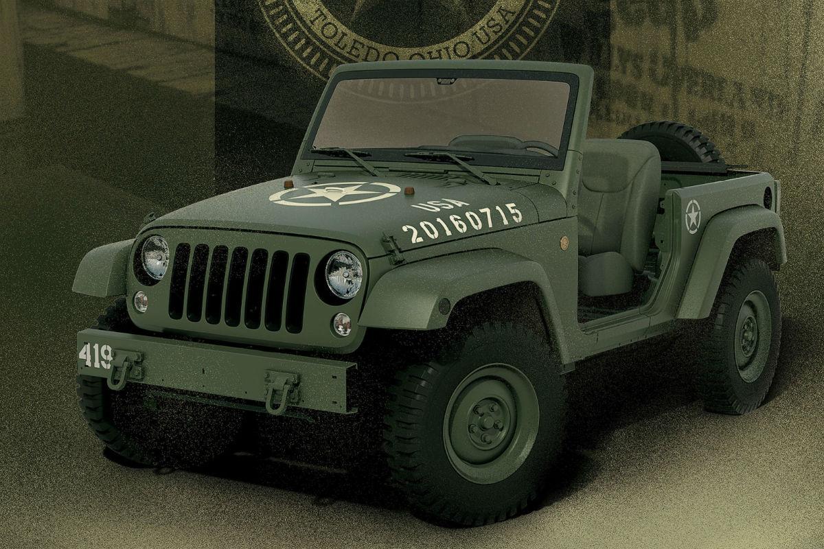 Jeep Wrangler 75 Salute Concept