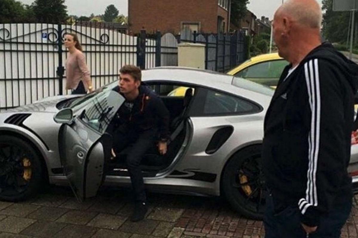 Max Verstappen se regala un Porsche 911 GT3 RS