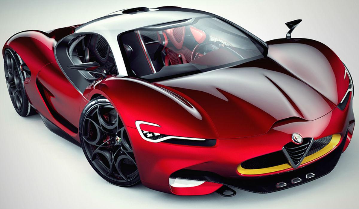 Alfa Romeo Furia Concept, la propuesta 'pirata'