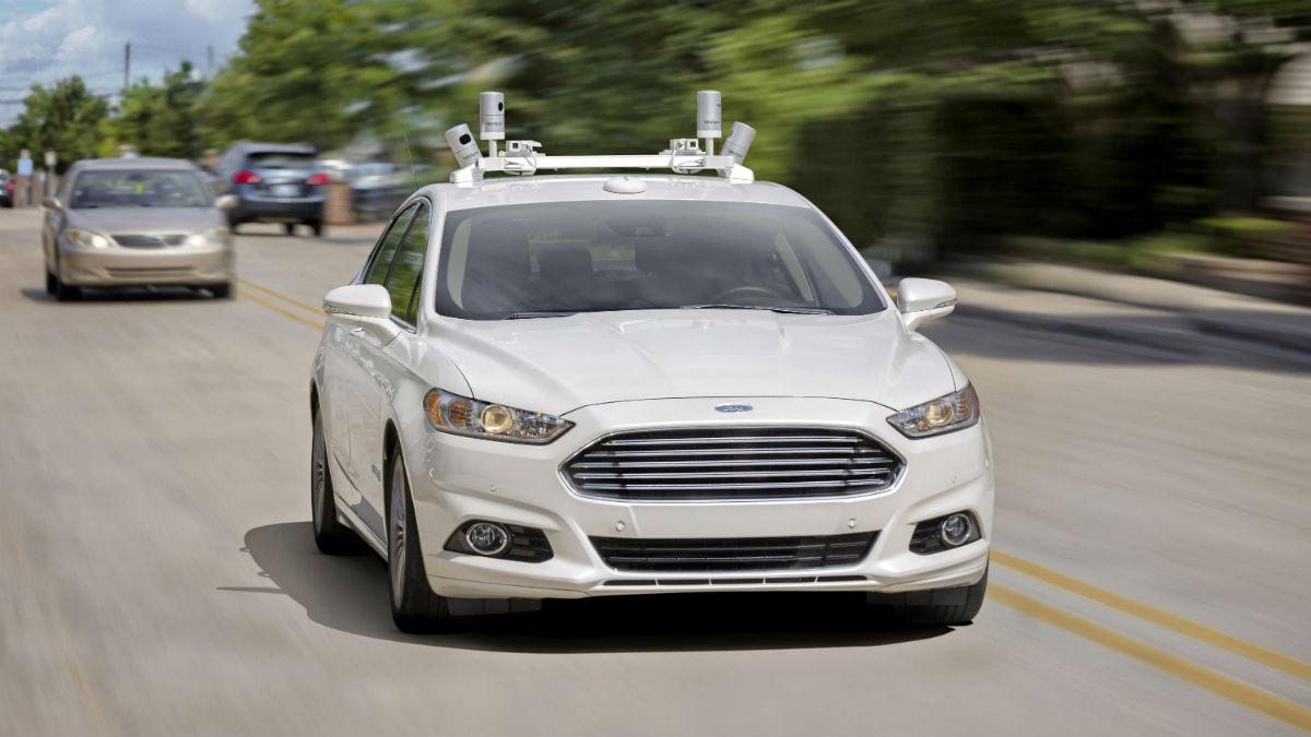 coche autonomo Ford