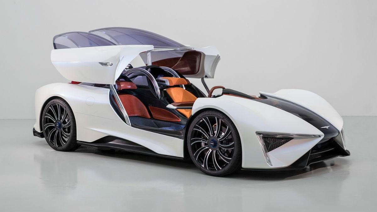 El Techrules Ren cuenta con hasta 6 motores eléctricos capaces de generar una potencia total de 1.300 CV.