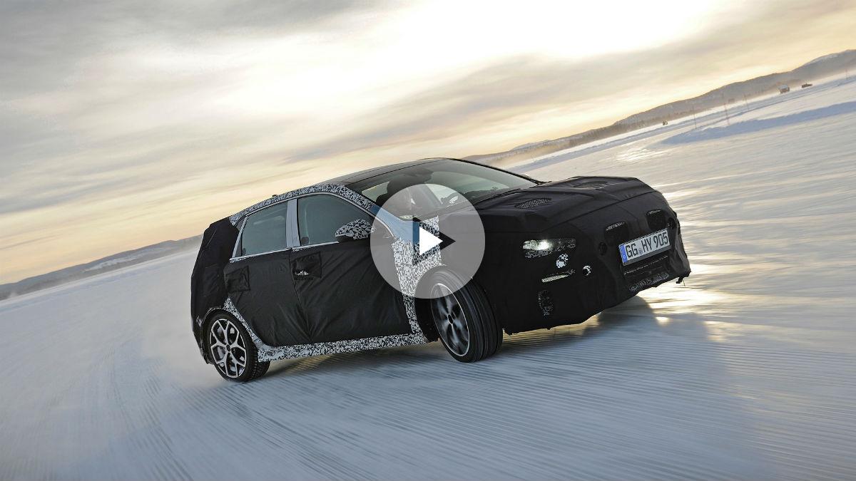 El nuevo Hyundai i30 N está siendo desarrollado en las condiciones más duras para ofrecer el mejor rendimiento posible cuando llegue al mercado.