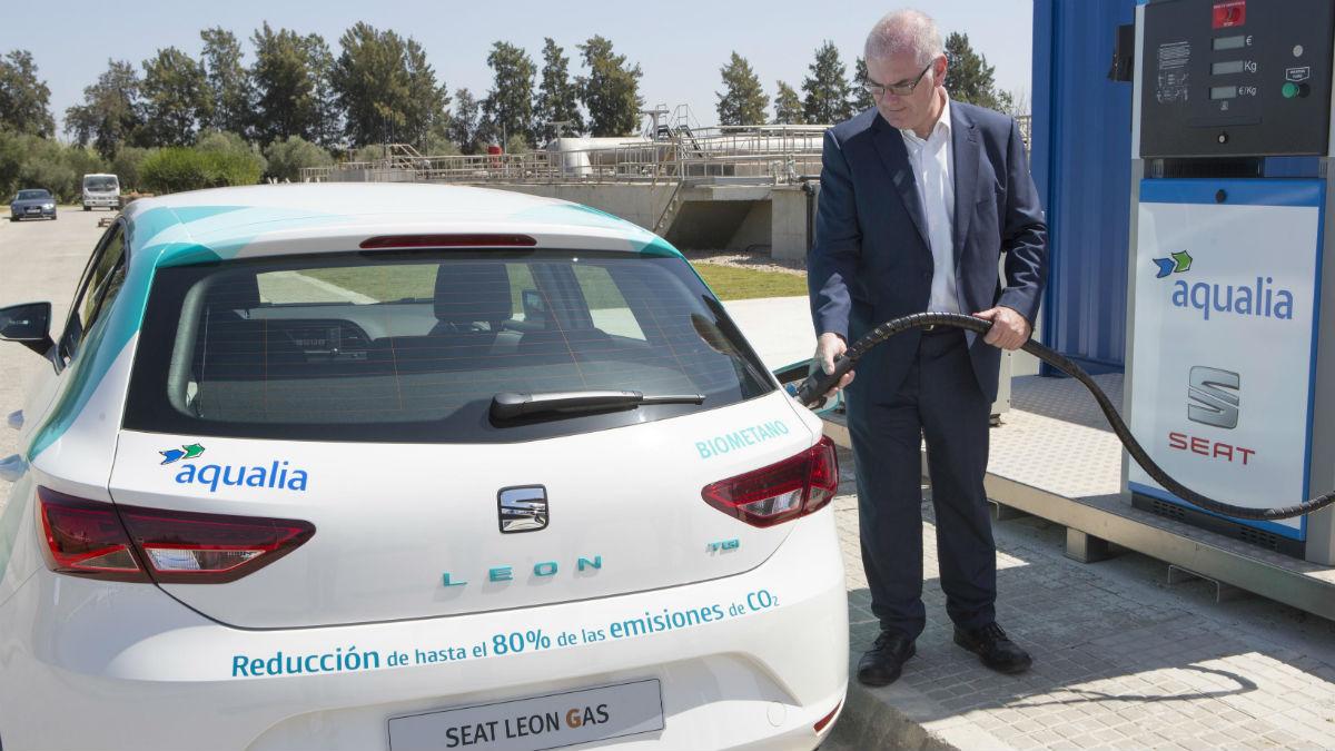 El nuevo combustible alternativo que proviene de las aguas residuales tiene origen totalmente español.