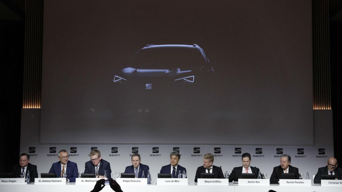 Seat ha anunciado la llegada al mercado del que será su tercer SUV, que se situará por encima del Ateca y desembarcará en 2018.
