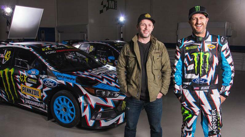 Ken Block ha presentado el nuevo Ford Focus RS RX con el que disputará esta temporada el Campeonato del Mundo de Rallycross.