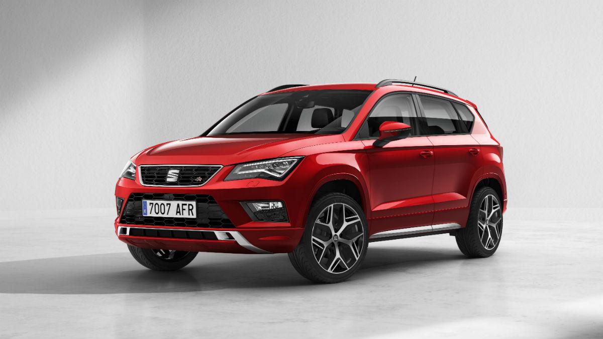 El nuevo Seat Ateca incorpora el acabado FR a su oferta, gracias al cual el SUV adquiere un tono más deportivo de lo más atractivo.